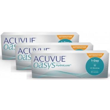 Acuvue Oasys 1-Day for Astigmatism (90)  lentes de contacto de www.interlentes.pt
