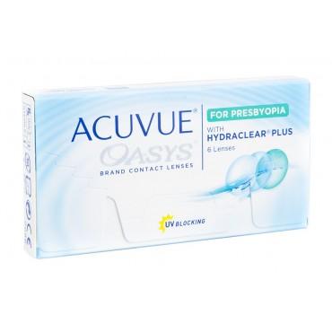 Acuvue Oasys for Presbyopia  lentes de contacto de www.interlentes.pt