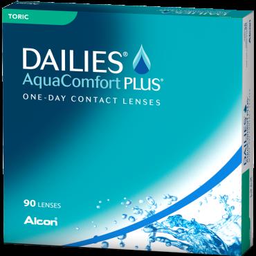 Dailies Aquacomfort Plus Toric (90) lentes de contacto de www.interlentes.pt