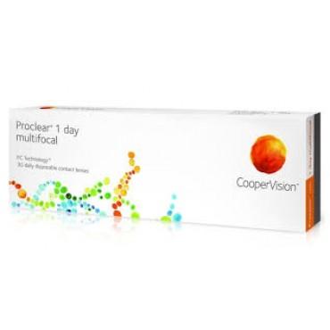 Proclear 1-Day Multifocal (30) lentes de contacto de www.interlentes.pt
