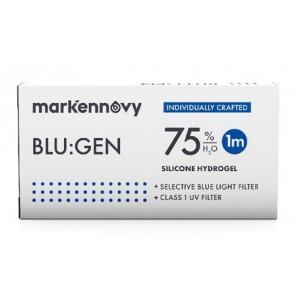 Blu:gen contact lenses 1-pack