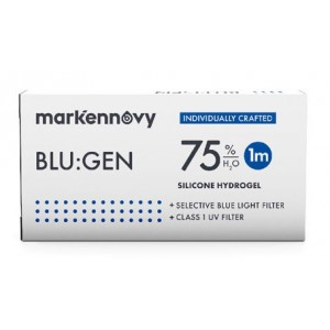 Blu:gen Multifocal contact lenses 3-pack