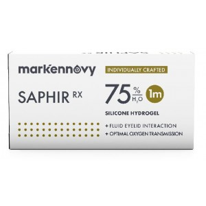 Saphir Rx Multifocal contact lenses 3-pack